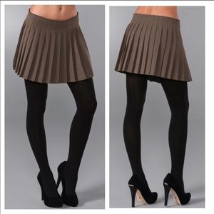 Theory Pleated miniskirt